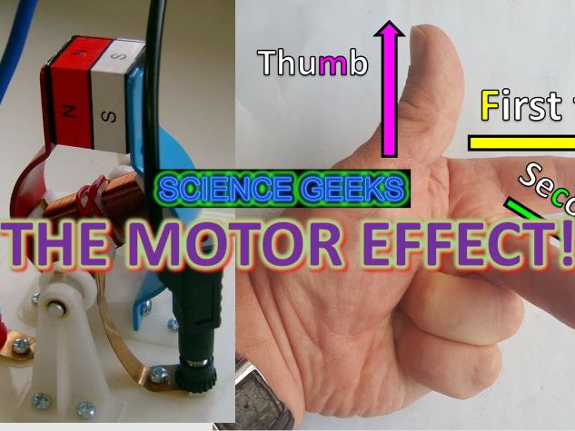 GCSE PHYSICS - THE MOTOR EFFECT, FLEMING'S LEFT HAND RULE AND BIL