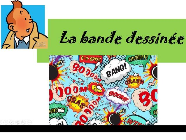 resources on la Bande dessinee
