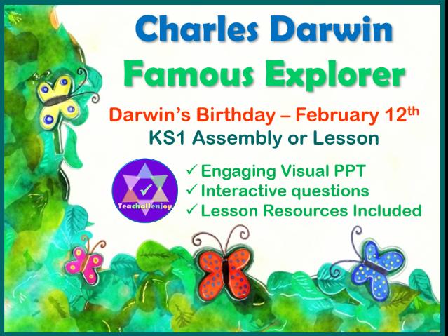 Charles Darwin KS1 Assembly and Lesson