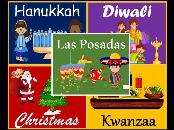 Holidays Around The World Bundle | Winter - 157 Google Slides