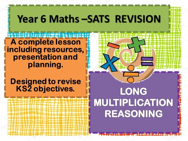 COMPLETE REVISION LESSON LONG MULTIPLICATION