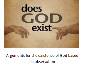 Arguments based on Observation OCR booklet A Level Religious Studies