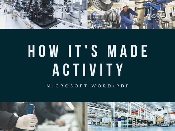 How It's Made Activity