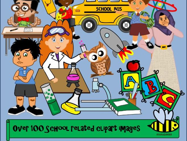 School clip art