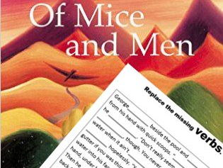 Of Mice and Men Chapter One Verbs and Nouns Practice