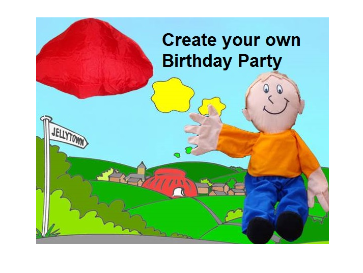 Have a pretend Birthday Party during the coronavirus