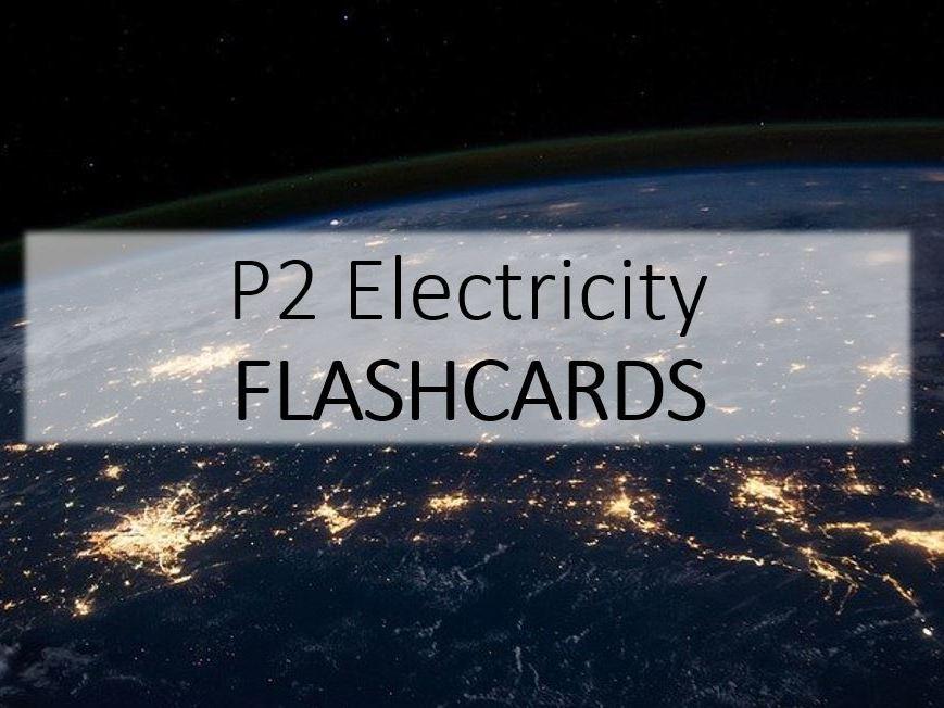 Electricity Flashcards GCSE
