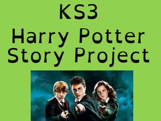 KS3 ICT, Computing. 4 lessons based on Harry Potter story project