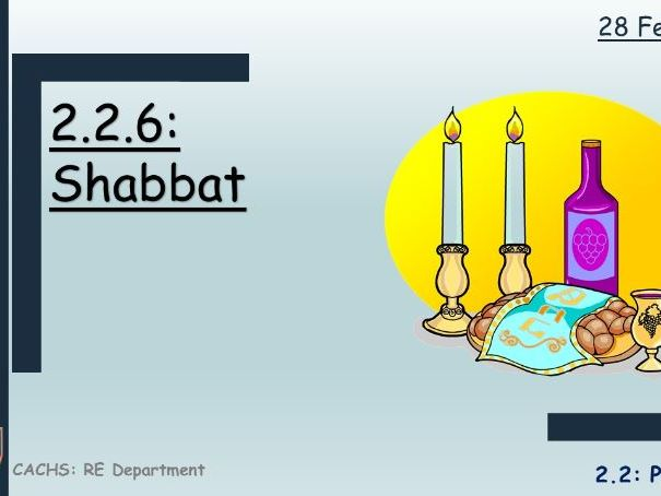 GCSE RS Judaism: Shabbat
