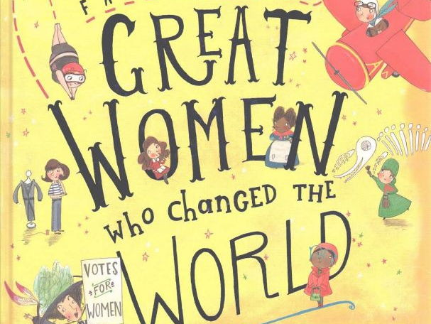 Activity Pack for 'Fantastically Great Women who Changed the World' by Kate Pankhurst