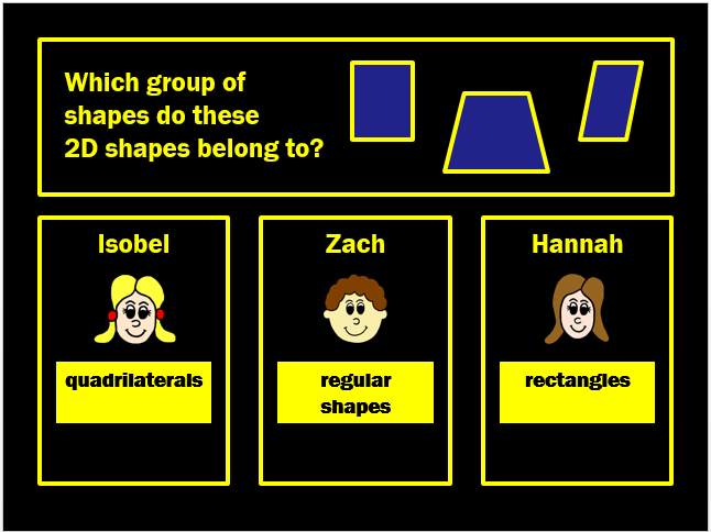 2D Shapes Powerpoint Game (Game 1) by Arithmetickx
