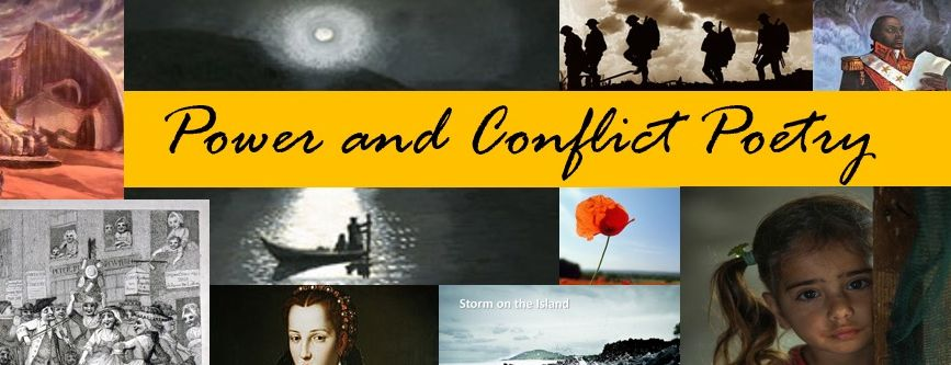 AQA Power and Conflict Poetry FULL revision/homework pack
