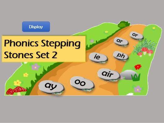KS1 Phonics Practise - Stepping Stones