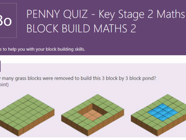 PENNY QUIZ - KS2 Maths. Block Build Maths 2