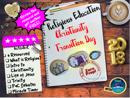 Transition Day : Religious Studies ( Christianity )