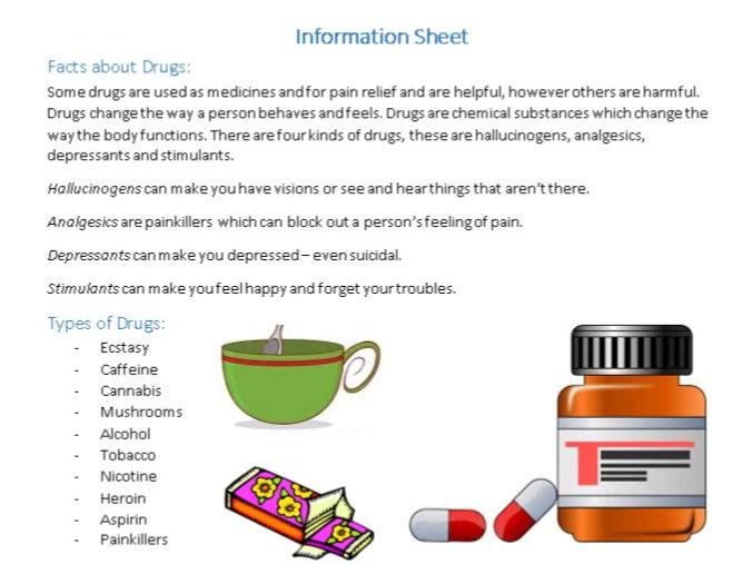 Drugs Information Sheet