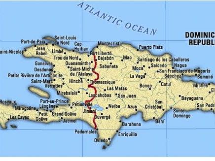 A Level; earthquake case study - Haiti