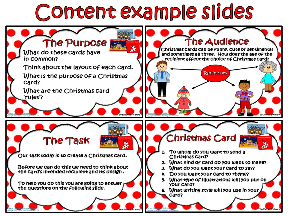 Creating a Christmas Card (PowerPoint presentation) by ...