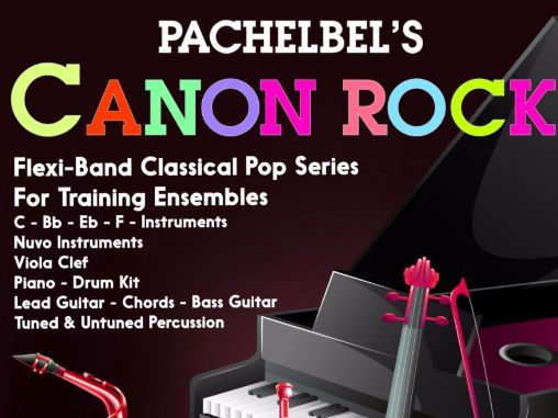 Pachelbel's Canon Rock  - (Flexiband Score & Parts)
