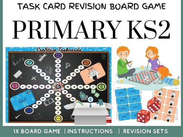 KS2 Primary Board Game