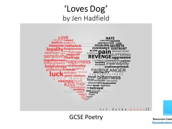 GCSE Poetry: 'Loves Dog' by Jen Hadfield