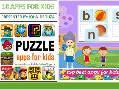 18 APPS FOR KIDS