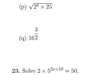 12 GCSE/IGCSE Math Worksheets (with detailed solutions)