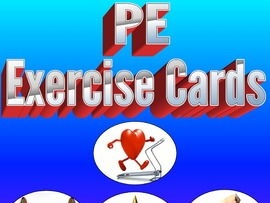 Physical Education Exercise Cards Bundled