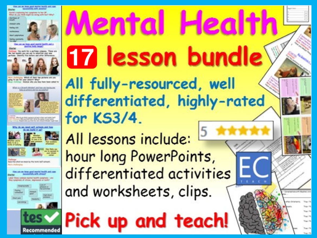 Mental Health: Mental Health Bundle