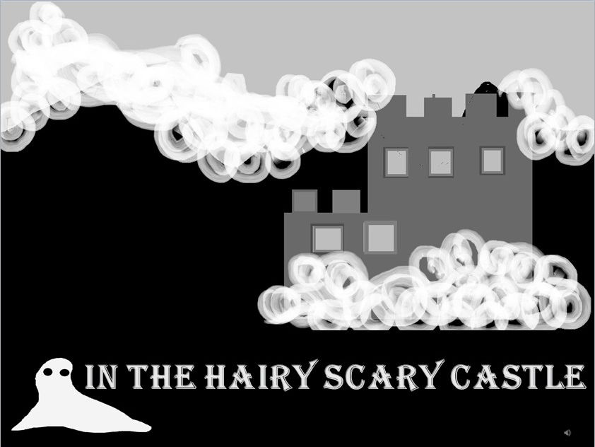 In The Hairy Scary Castle. Cumulative song for key stage one with sound effects  Video PPT MP3s