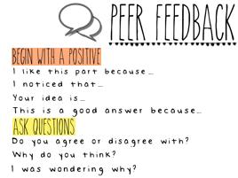 Peer Feedback Help Sheet