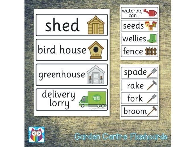 Garden Centre Flashcards