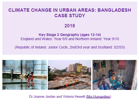 Climate Change in Urban Areas: Bangladesh Case study