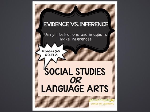 Literacy - Text Evidence vs Inferences