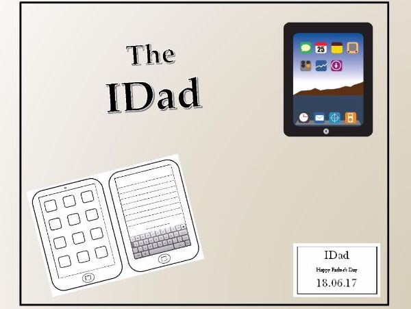 Father's Day Card - The IDad KS1 and KS2