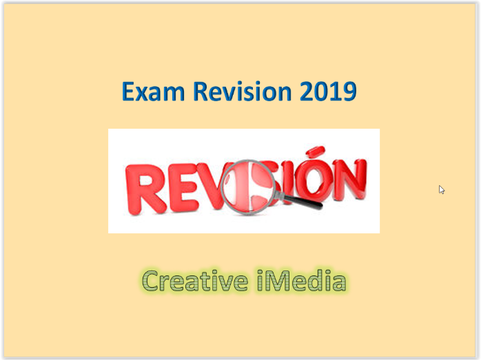 R081 Revision guides for the exam