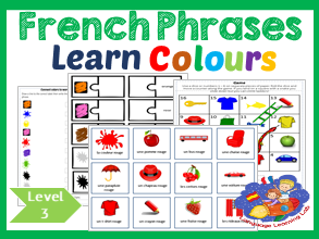 French colors - Learn to use colour words in phrases - les couleurs!