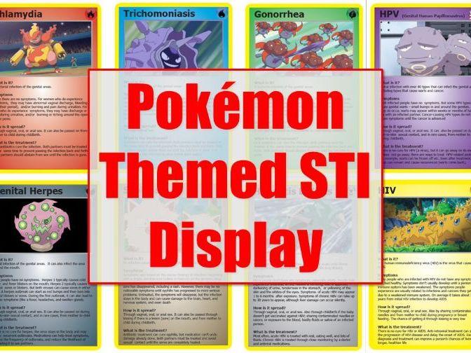 Pokemon STI Display