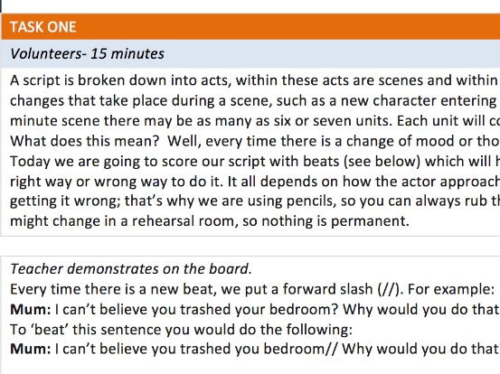New AQA Set Text 'The Crucible' 12 x Lesson scheme of work