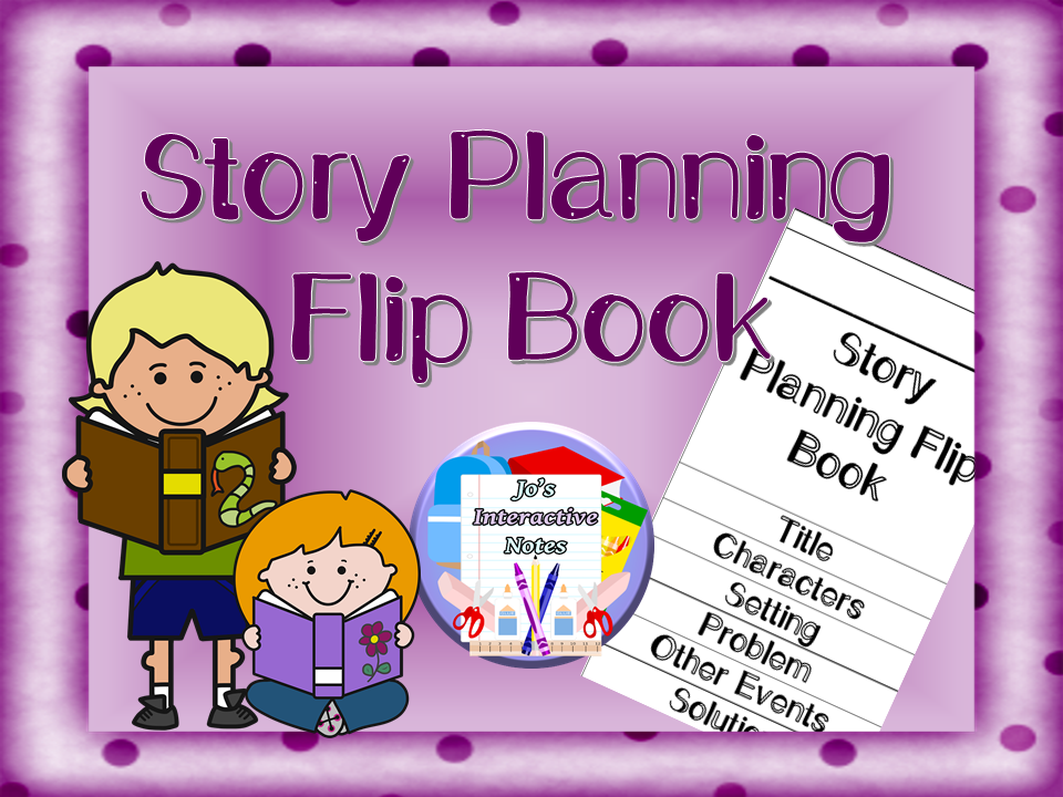 Story Planning Flip Book
