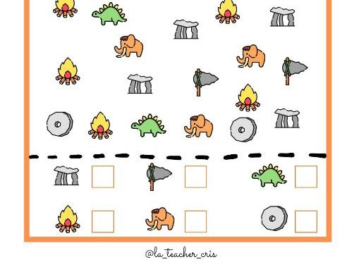 Counting activity prehistory theme