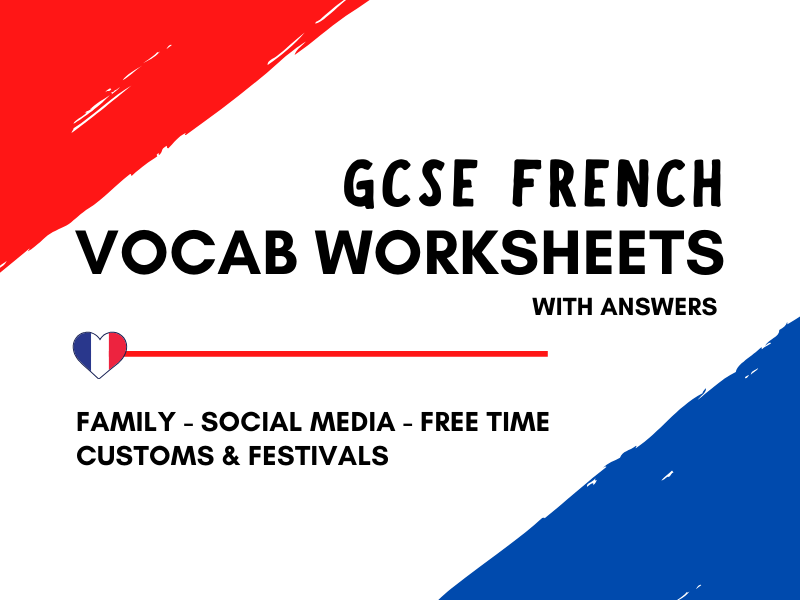 French GCSE Vocabulary Revision - Theme 1 - Identity and Culture