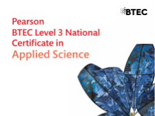 BTEC Applied Science; Unit 2, Topic C; Sequence of lessons.
