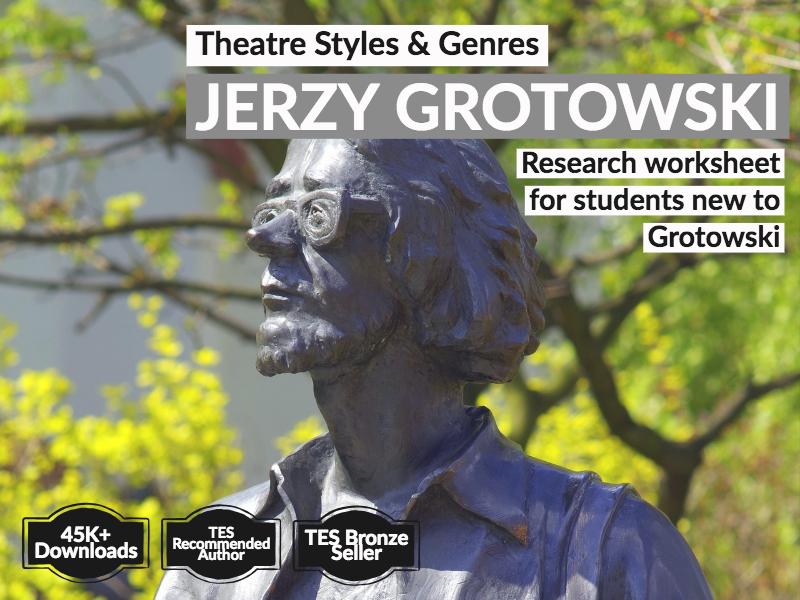 Jerzy Grotowski Information Sheet
