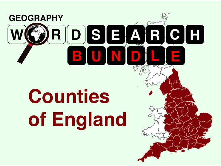 Counties of England Bundle
