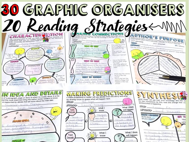 READING STRATEGIES: GRAPHIC ORGANISERS