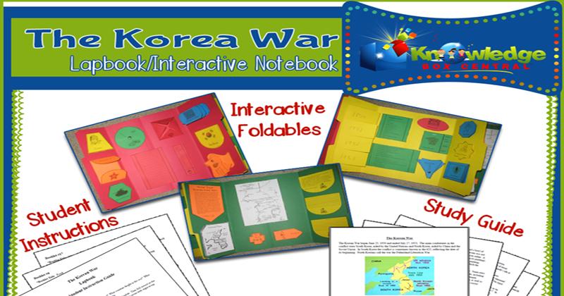 Korean War Lapbook