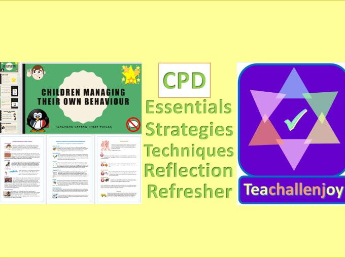 Behaviour Management CPD Pack