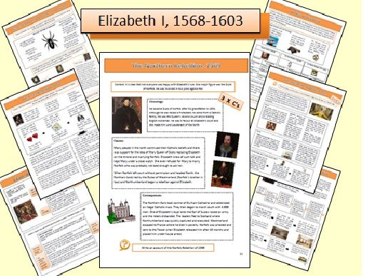 AQA GCSE 9-1 History Revision Guide: Elizabethan England, c.1568-1603