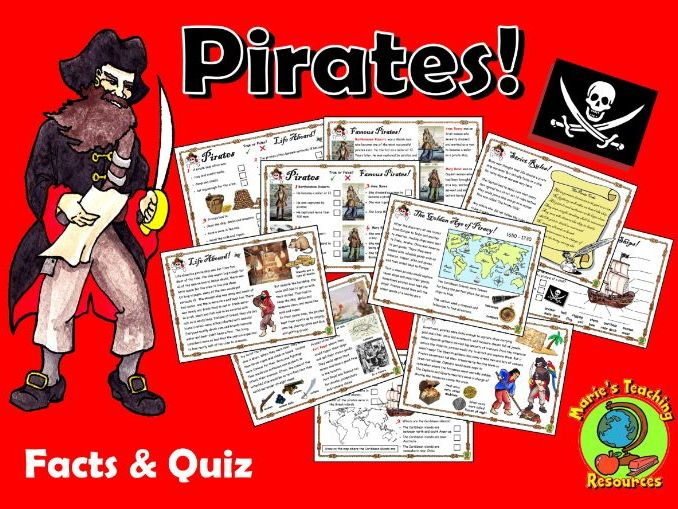 Pirates - Facts & Quiz